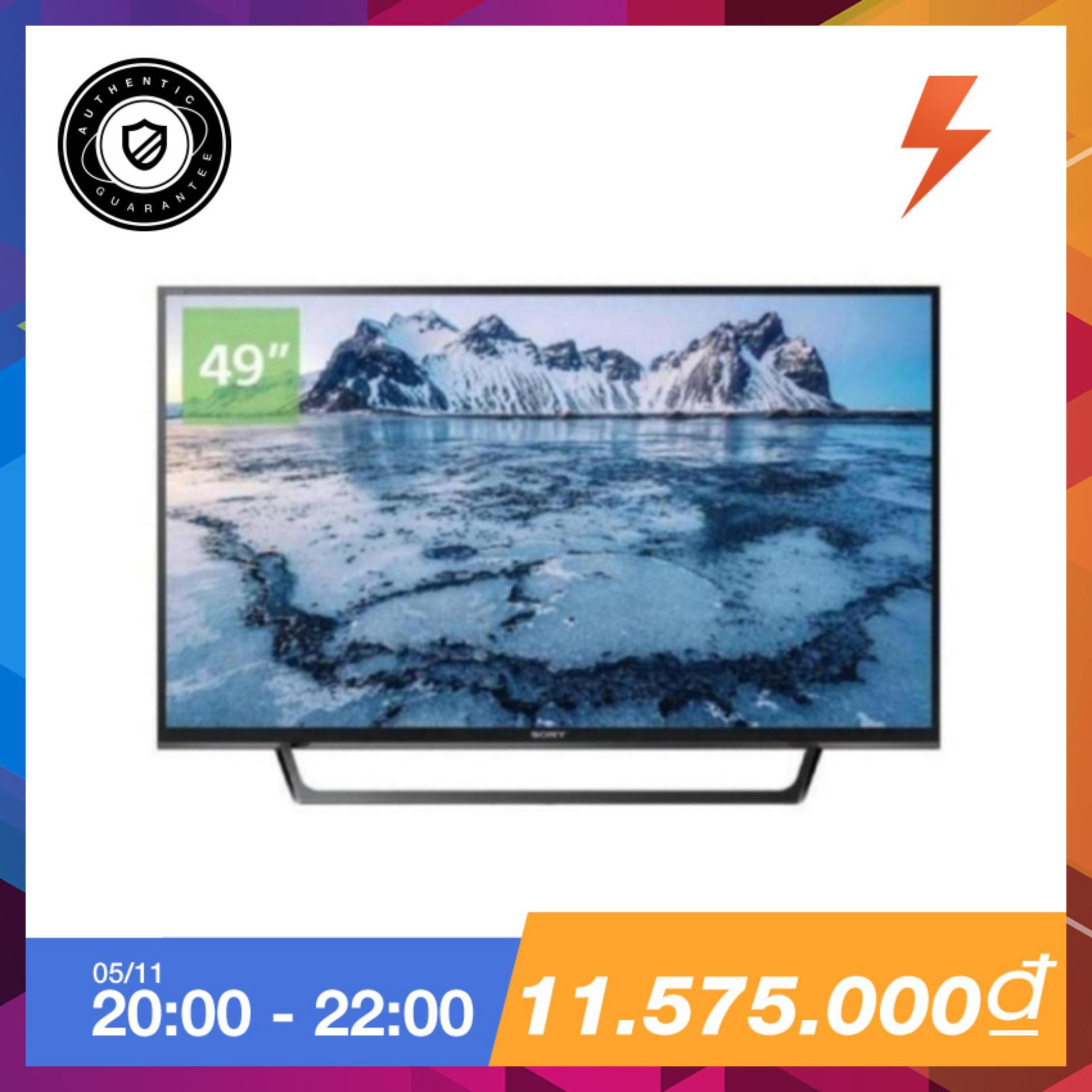 Mã Khuyến Mại Internet Tv Led Sony 49Inch Full Hd Model Kdl 49W660E Vn3 Đen Sony Mới Nhất