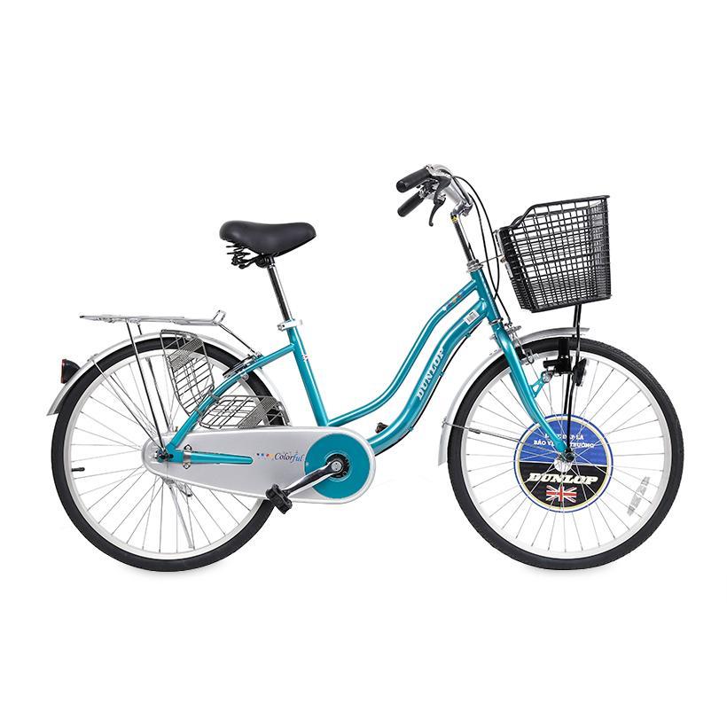 Xe đạp thông dụng nữ Dunlop D-PA240 (Xanh ngọc)