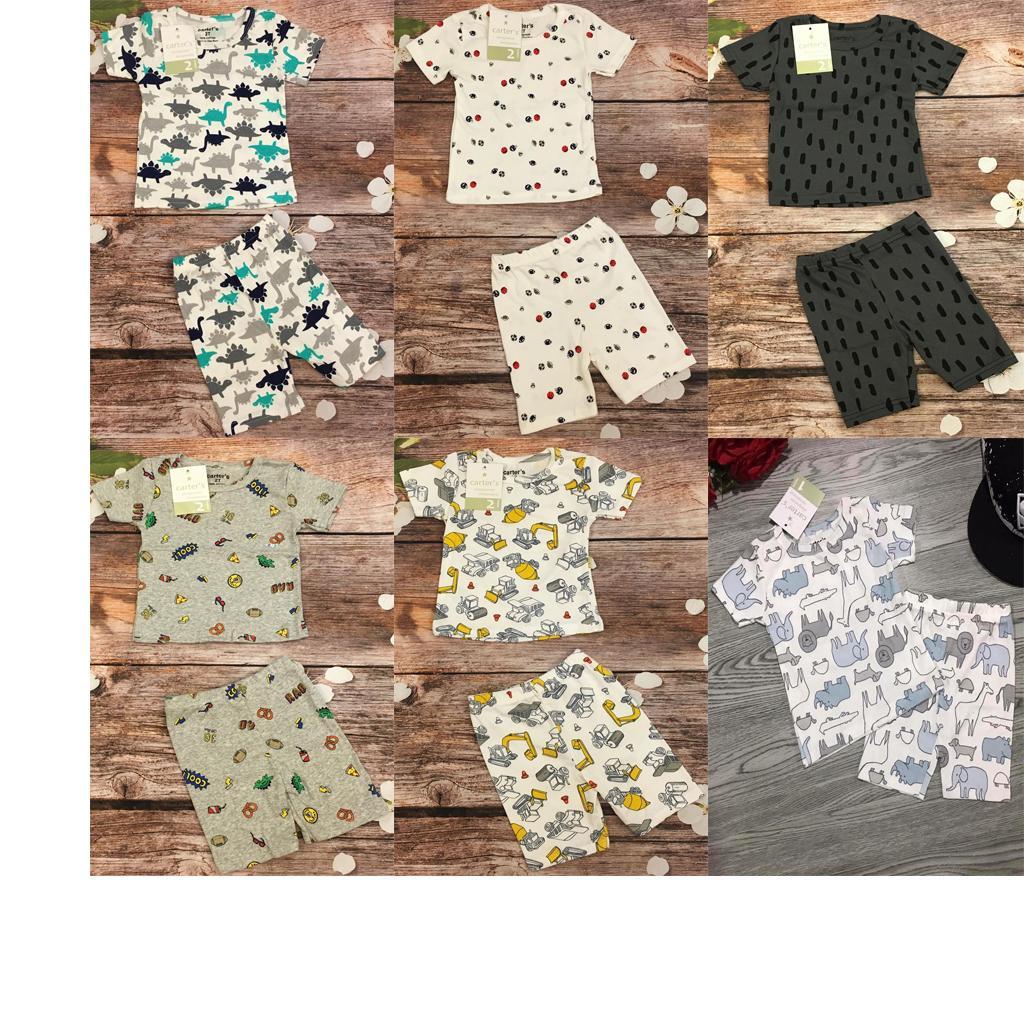 Bán Combo 3 Bộ Quần Ao Cotton Cho Be Trai Mầu Sắc Bất Kỳ Bbt02 Size 3 13 5 15Kg Rẻ Nhất