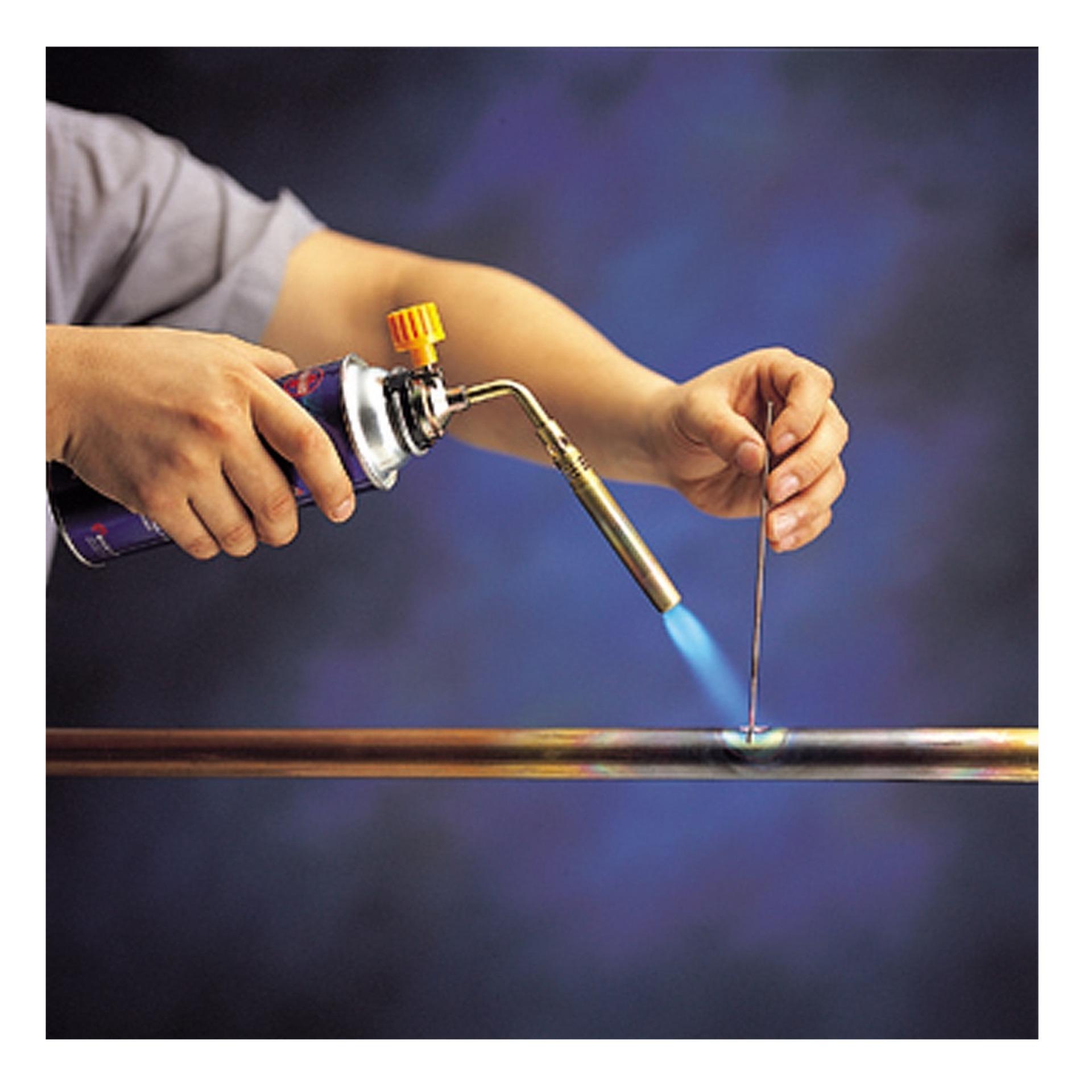Hàn khò cầm tay - Đèn khò gas - Sử dụng lon gas nhỏ