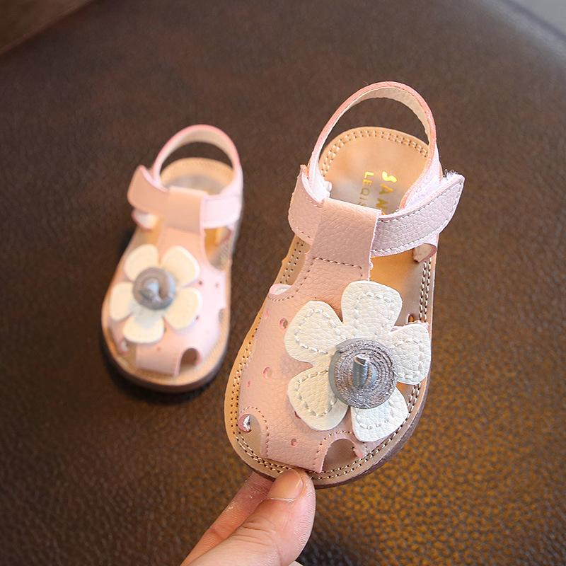 Baby Sandals women 1-3 Years Old 2019 New Style Summer Korean Style Anti- 757c064dab86