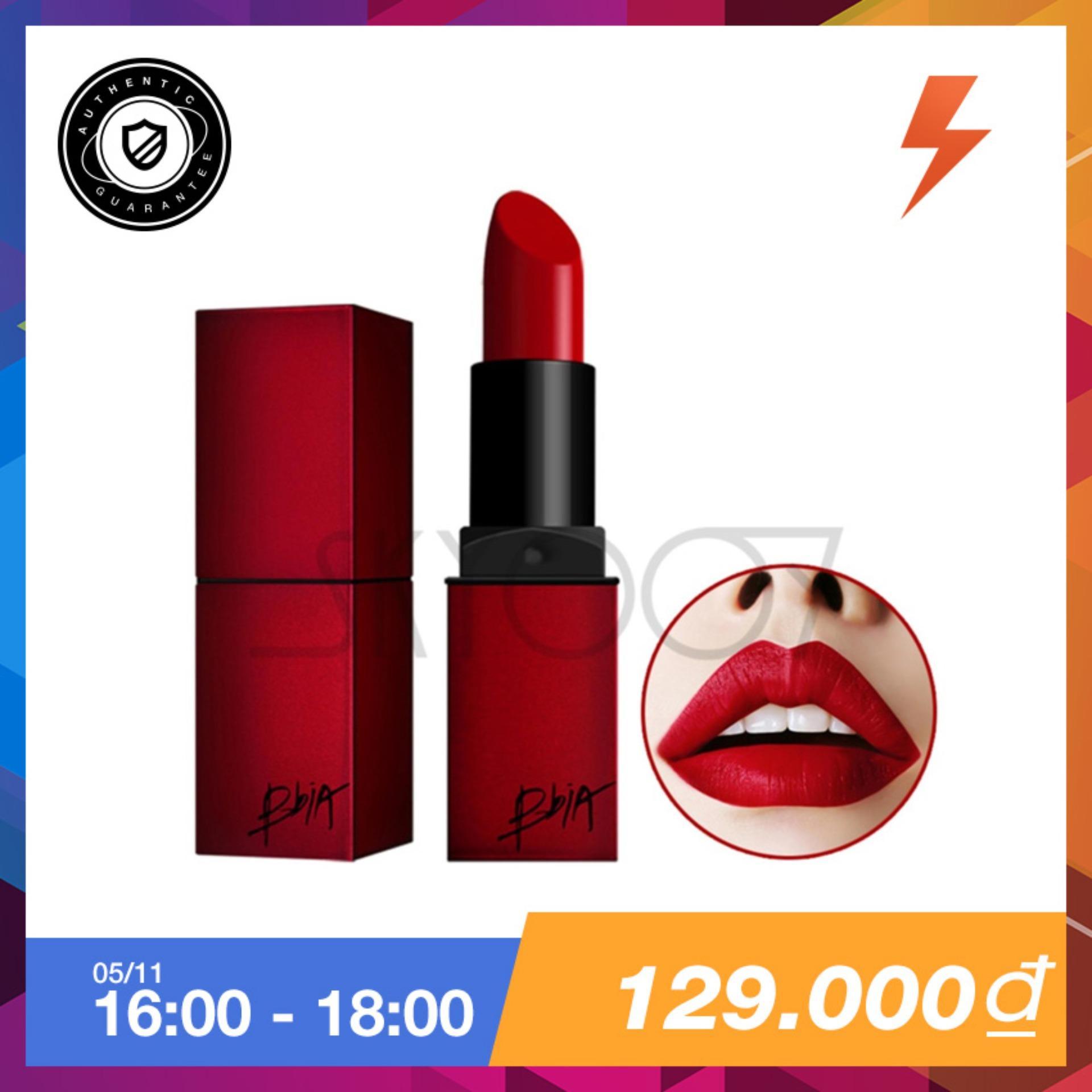 Bán Son Li Vỏ Vuong Bền Mau Bbia Last Lipstick Version 1 01 Provocative Mau Đỏ Base Hồng Nhập Khẩu