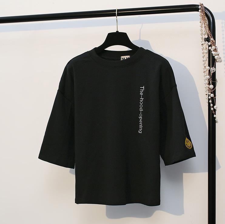 Áo thun nam nữ Unisex  - Thời trang xu hướng- Thời trang Evolpo (trắng đen hồng)