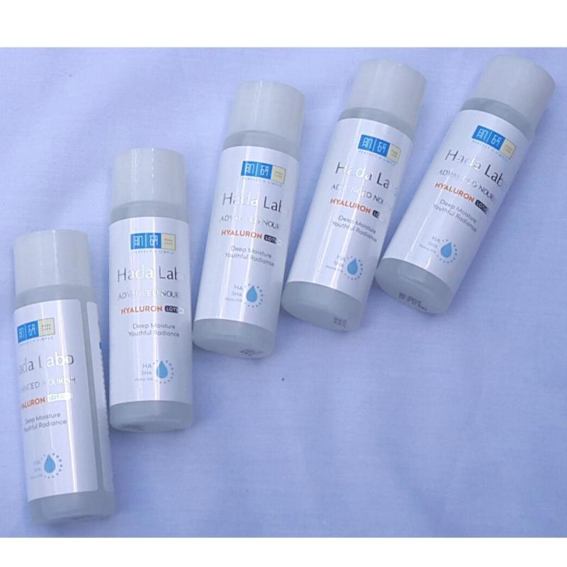 Combo 5 chai Dung dịch dưỡng ẩm tối ưu Hada Labo Advanced Nourish Hyaluron Lotion 40ml