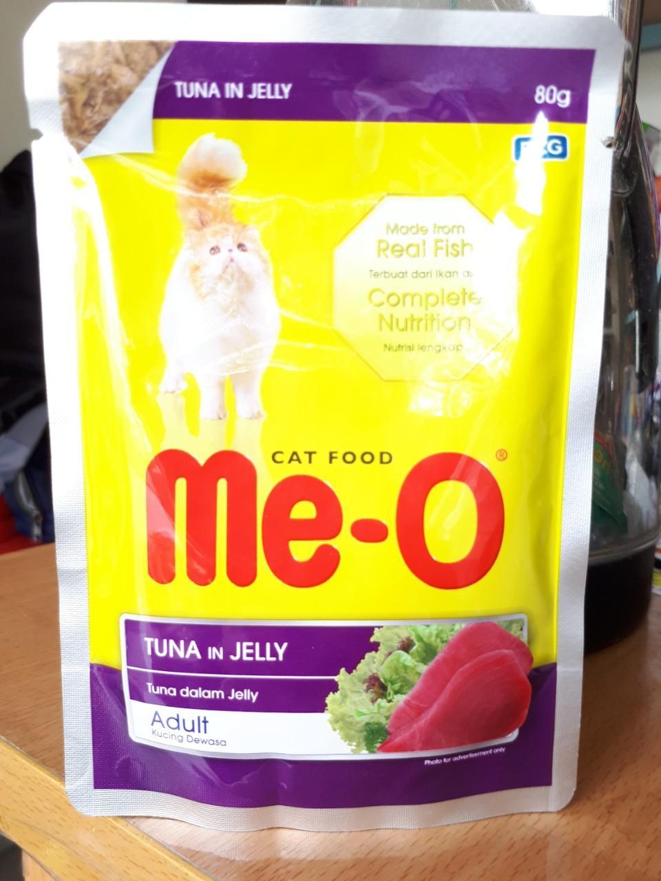 Mã Ưu Đãi Khi Sở Hữu Ngay Pate Mèo ME-O 80g