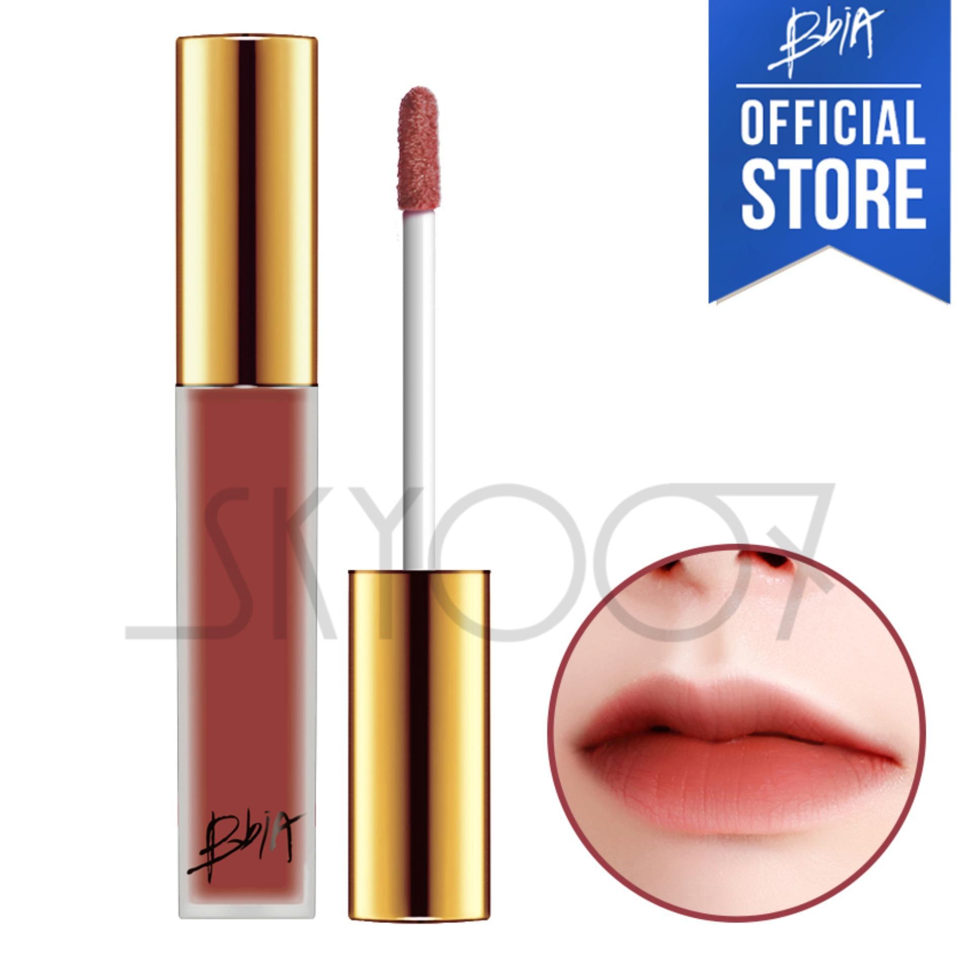 Hình ảnh Son kem lì siêu lâu trôi Bbia Last Velvet Lip Tint Version 3 - 13 Serious Boss (Màu hồng đất)