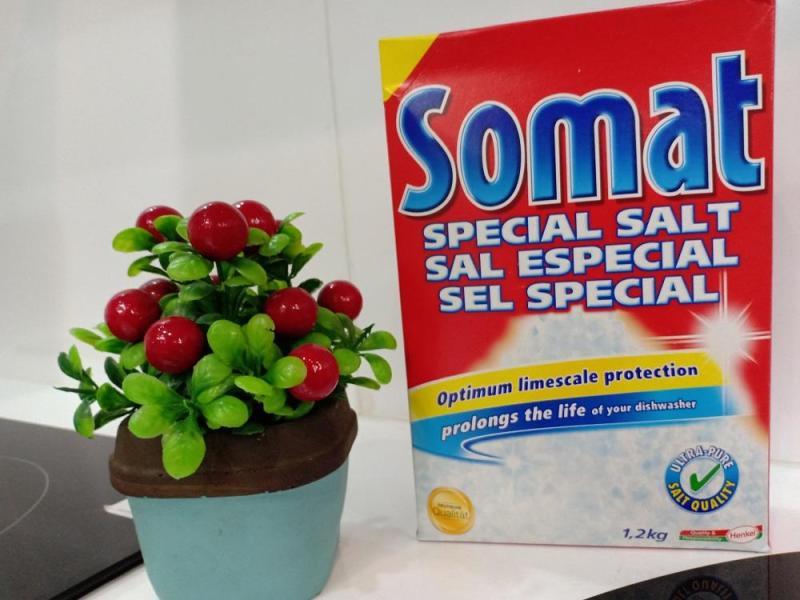 Muối rửa bát Somat Đức 1.2 kg