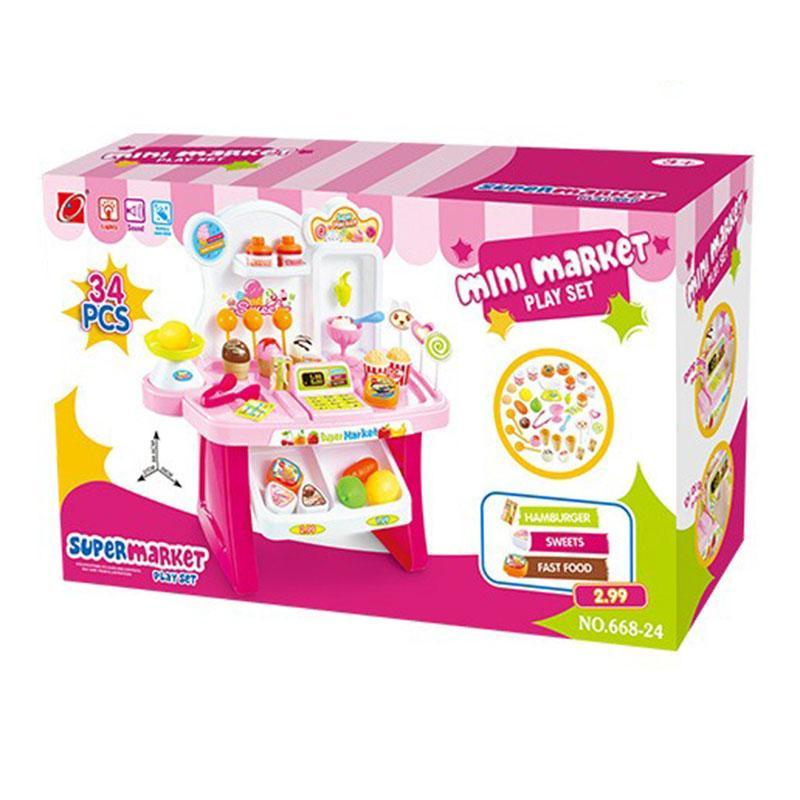 Hình ảnh Bộ đồ chơi siêu thị mini 66824
