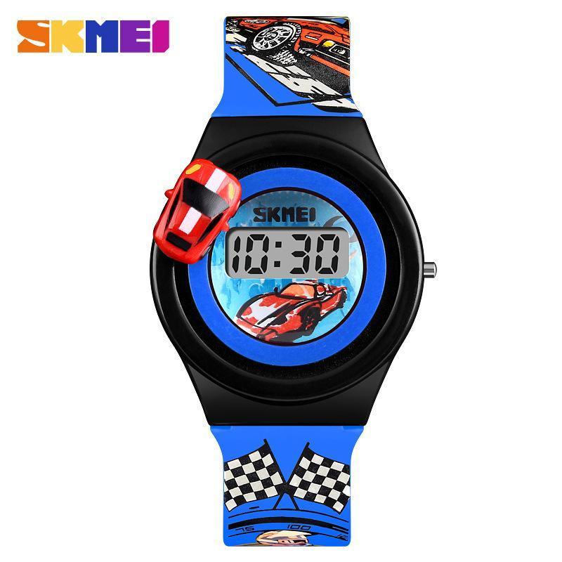 Nơi bán Đồng hồ trẻ em hình ô tô dây cao su Skmei Rcar