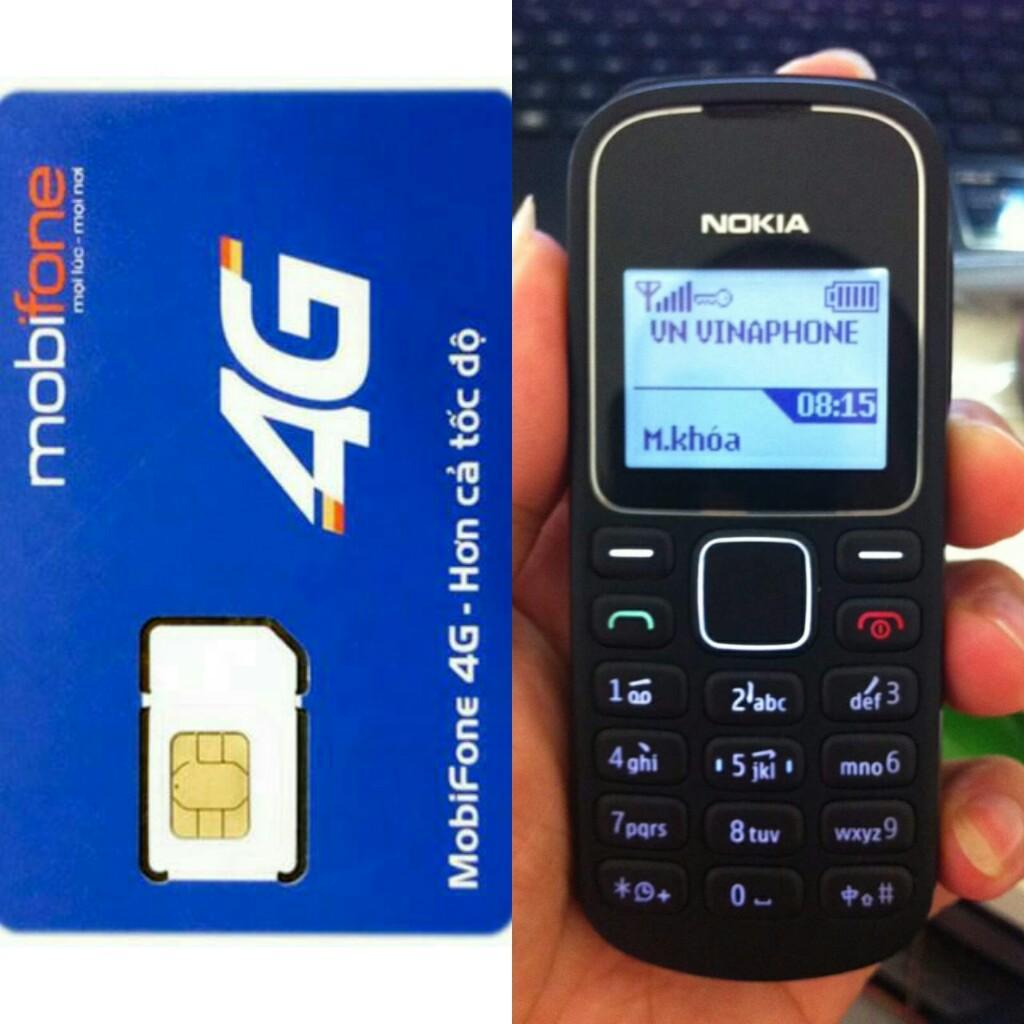 Hình ảnh Mua Sim Mobifone 10 số tặng điện thoại nokia 1280