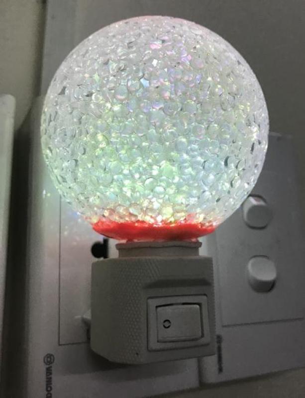Bảng giá Đèn ngủ led hình quả cầu kim cương