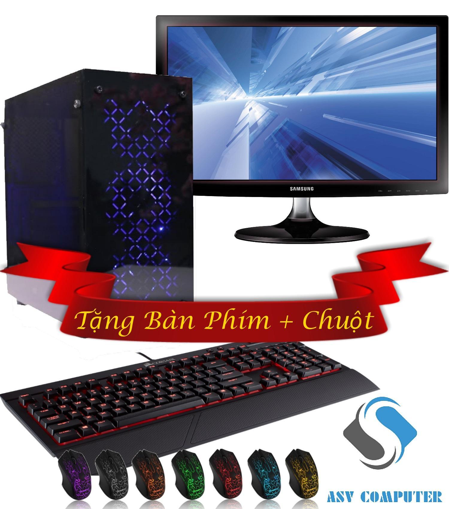 Máy tính bộ: G2030/ Ram 4G/ Vga GTX 750 2G, Màn hình Samsung 20inch