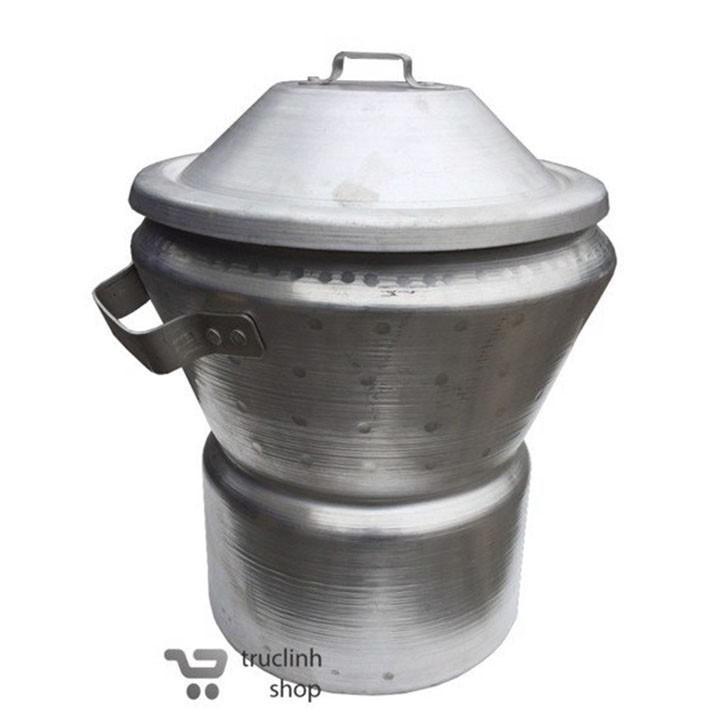 Hình ảnh Nồi chõ nấu xôi nhôm đúc đa năng TL loại nấu gạo 5kg