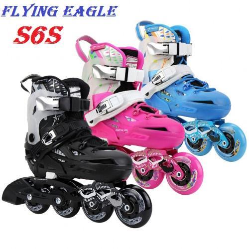Giày patin Flying Eagle S6S - Giày trượt patin đẳng cấp và chuyên nghiệp - Giày patin Flying Eagle chất lượng theo tiêu chuẩn Châu Âu - Giày trượt patin Flying Eagle S6S nhiều size, nhiều màu sắc thích hợp cho mọi lứa tuổi