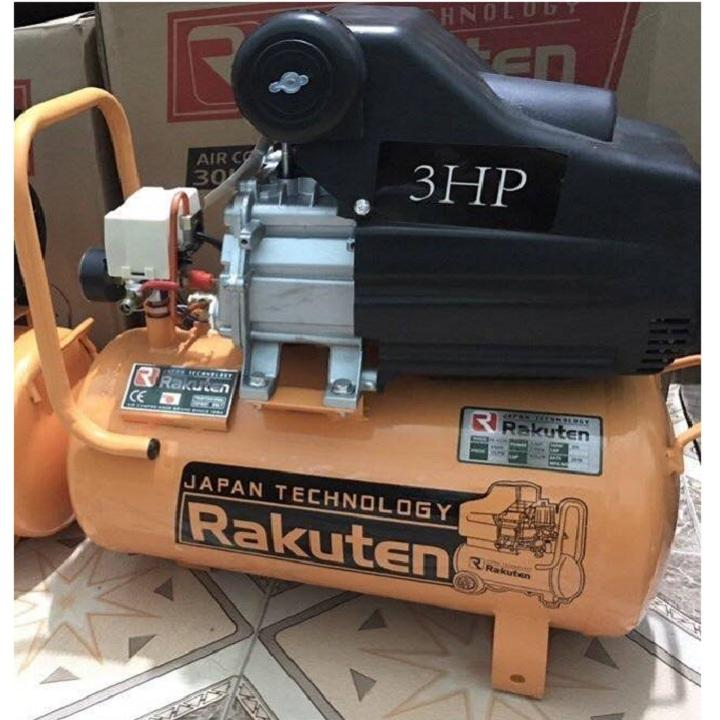 Hình ảnh Máy nén khí Rakuten 3HP 120l thương hiệu Nhật Bản - ABG shop