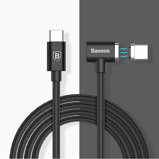 Hình ảnh Cáp sạc magsafe Baseus Magnet cho macbook 12, 13, 15 đời mới