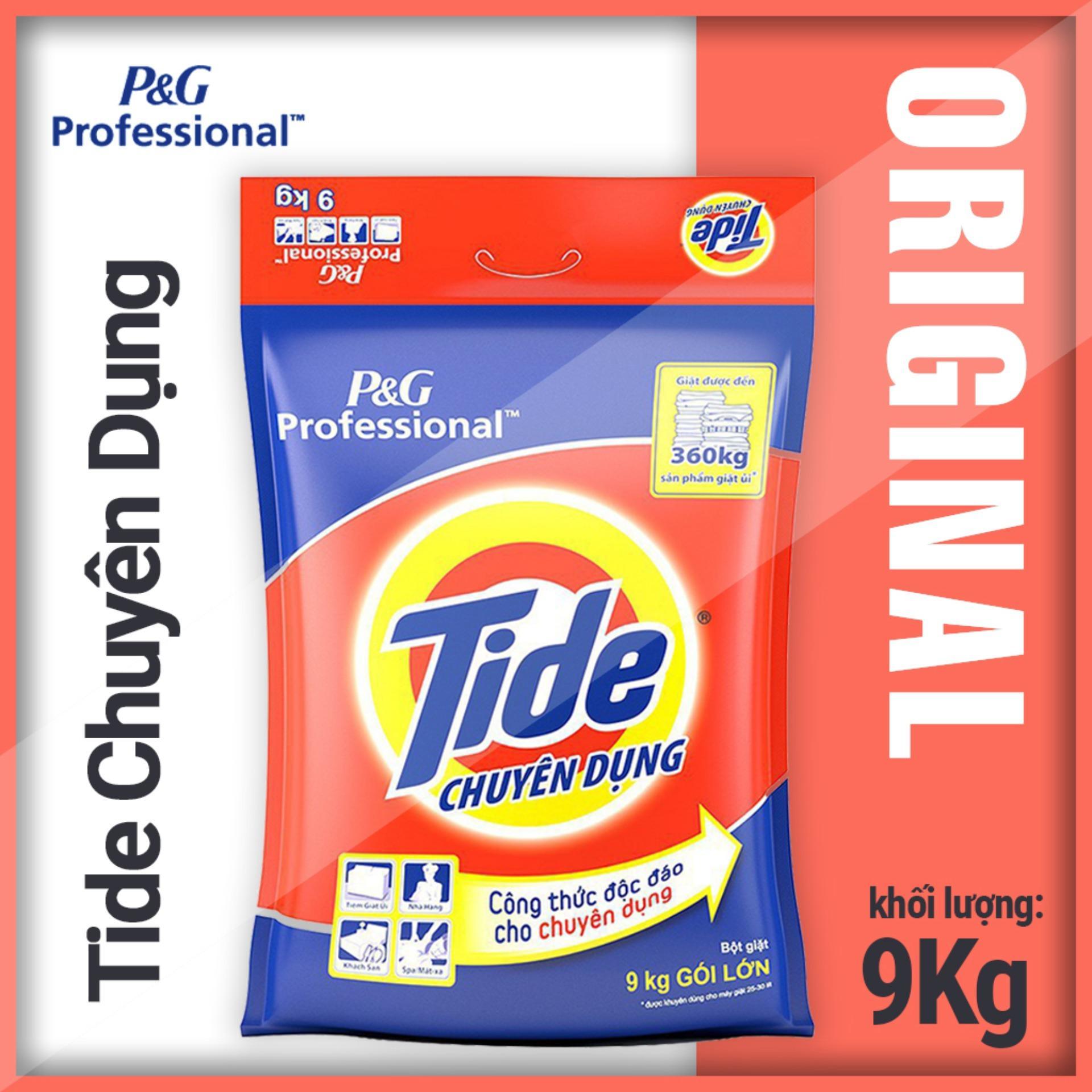 Giá Bán Bột Giặt Tide Chuyen Dụng 9Kg Vss Tide Nguyên