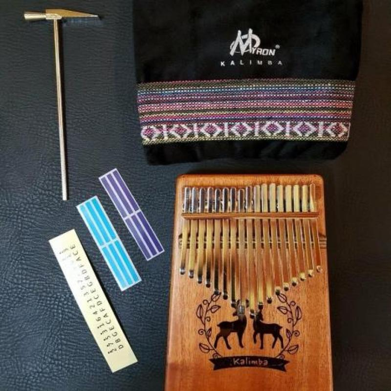 Kalimba 17 Key Myron Mahogany