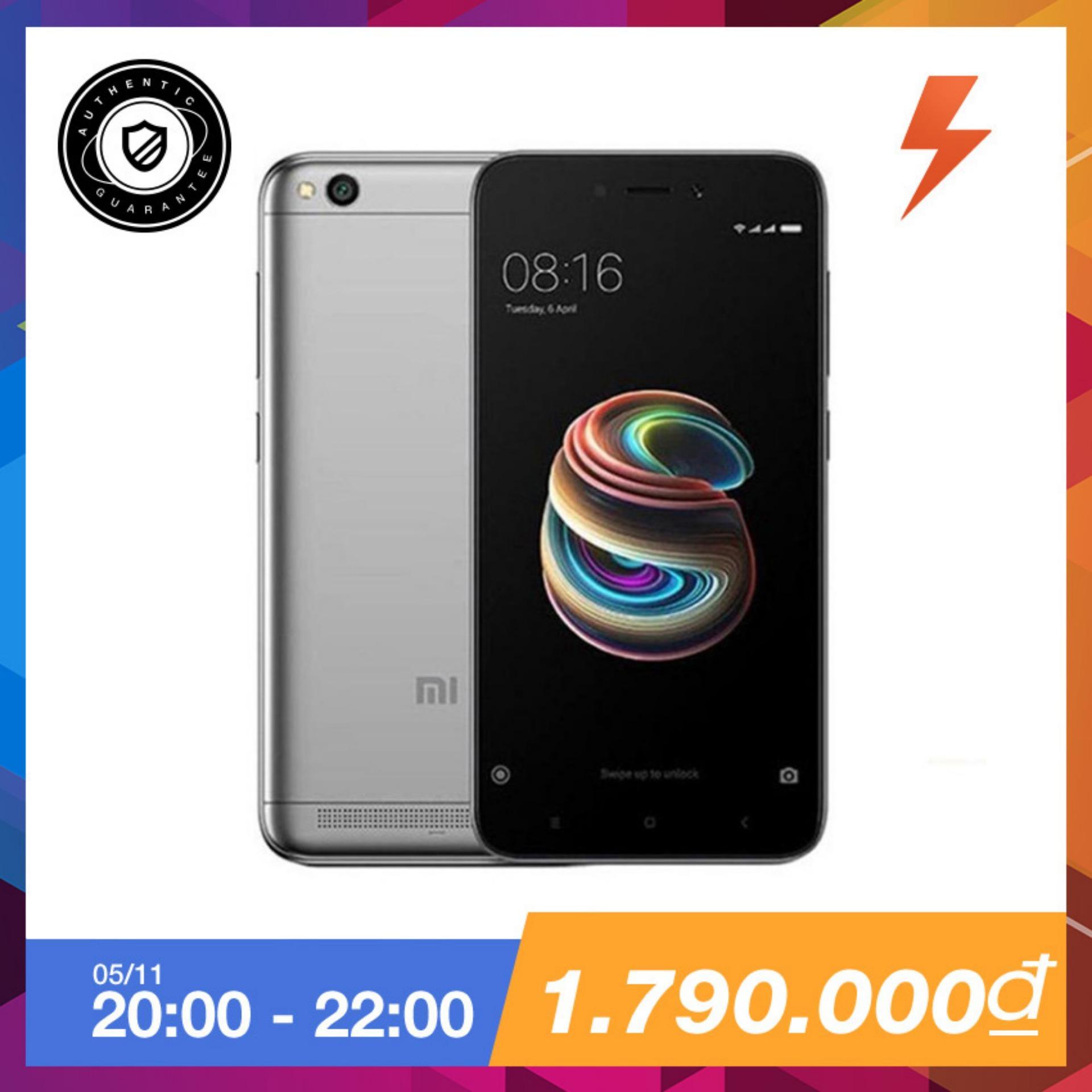 Bán Xiaomi Redmi 5A 16Gb Ram 2Gb Xam Hang Phan Phối Chinh Thức Xiaomi
