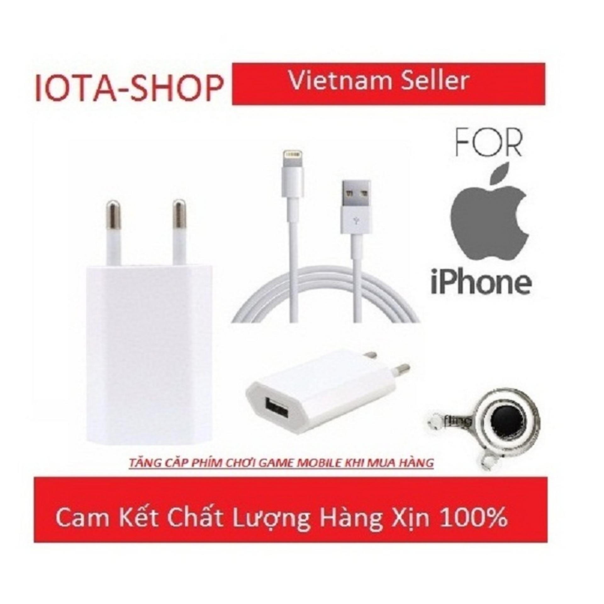 Giá Bán Bộ Cốc Va Cap Sạc Dẹt Zin Theo May Iphone 6 7 6 7Plus Apple Nguyên
