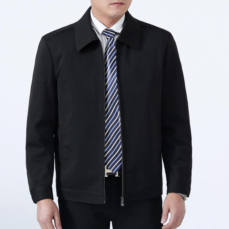 8714c45cbcd Men s Business Casual Stand Collar Jacket (Silver color) (Silver color)