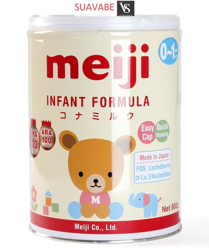 Giá Bán Sữa Meiji Infant Formula 800G Mới Nhất