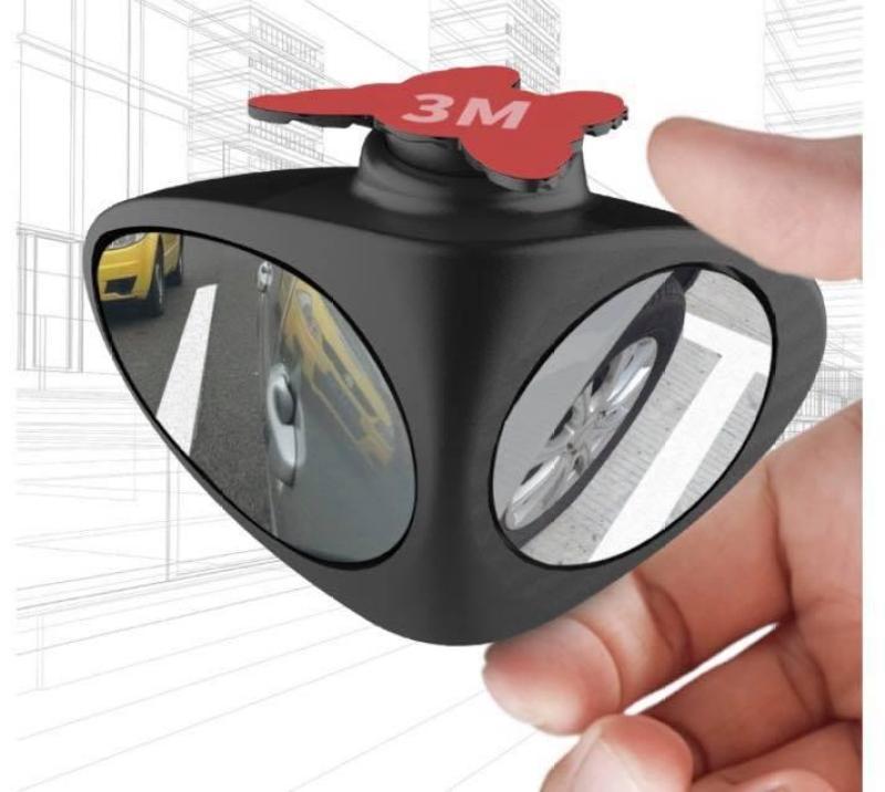 Gương 6D quan sát mọi góc nhìn 3R (bên trái)