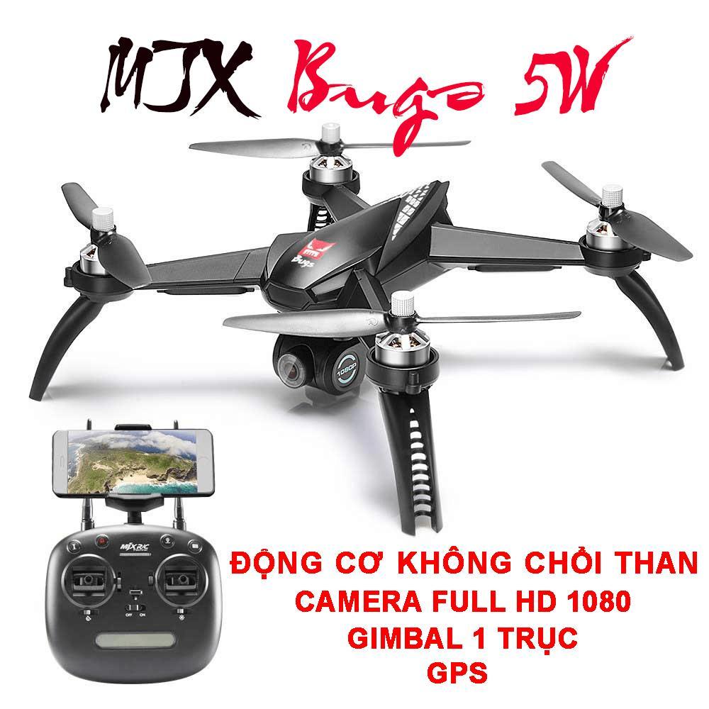 Hình ảnh Flycam MJX Bugs 5W - Động cơ không chổi than, GPS, Camera 8.0MP, Sóng 2.4Ghz