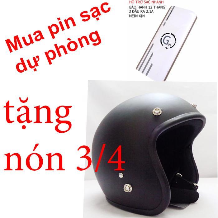 Hình ảnh Pin sạc dự phòng G01 Litinum 20000MAH (Trắng) - hổ trợ sạc nhanh + tặng ngay nón bảo hiểm 3/4 phượt thủ