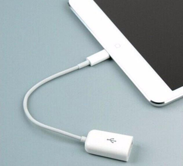Cáp Lightning USB OTG 9