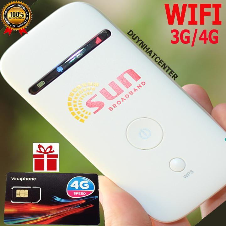 Hình ảnh Thiết bị phát Wifi 3G 4G PKCB SUN MF65 Tốc Độ Cao - Chất Lương Nhật Bản - Tặng Siêu Sim Data Khủng