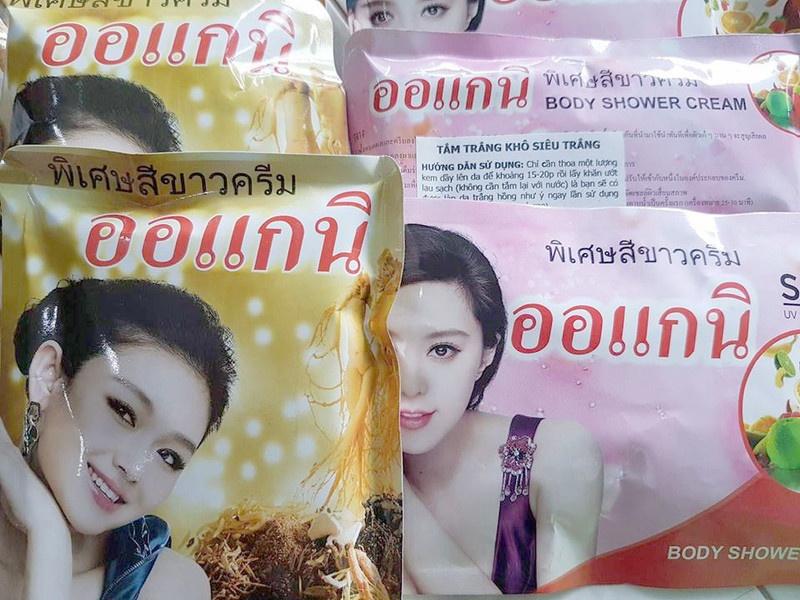 Tắm trắng khô siêu trắng Thái Lan 2