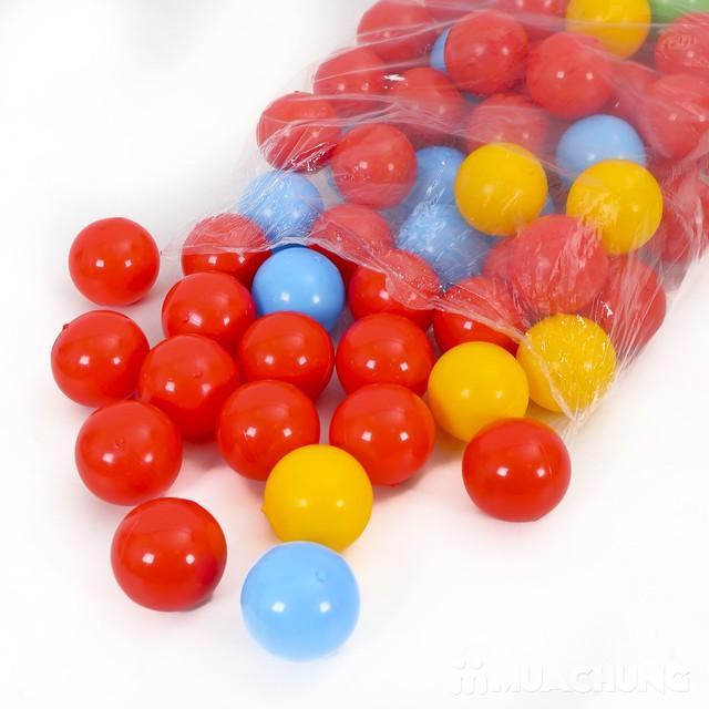 Hình ảnh 100 quả bóng nhựa chơi cho bé