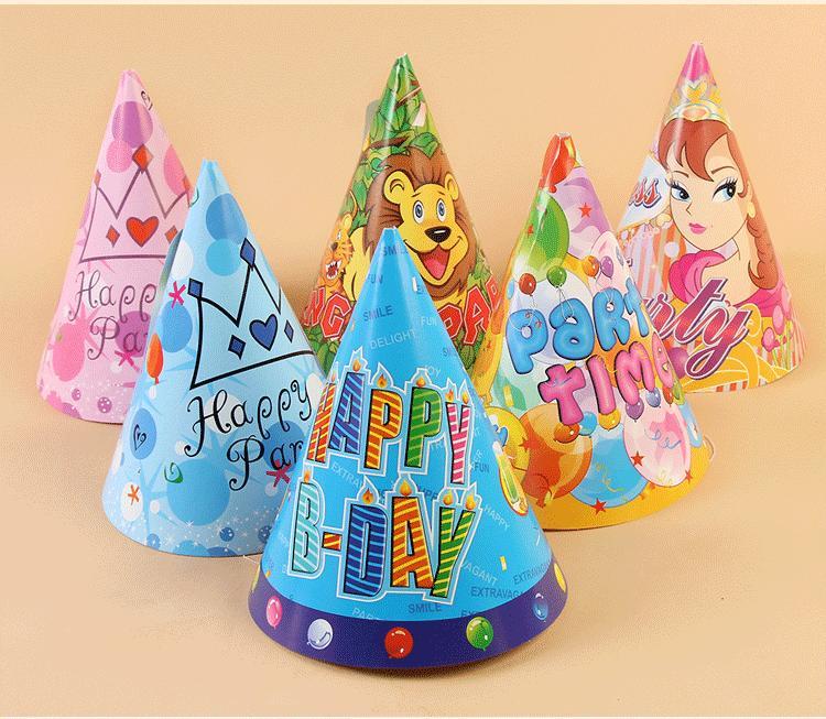 Hình ảnh Bộ 6 nón tiệc trang trí sinh nhật - Diệp Linh