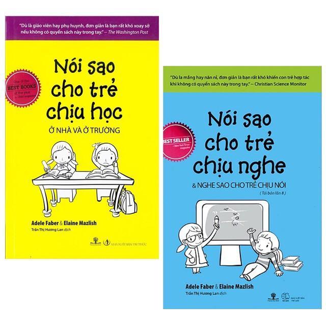 Mua Combo 2 sách Nói sao cho trẻ chịu học và sách Nói sao cho trẻ chịu nghe