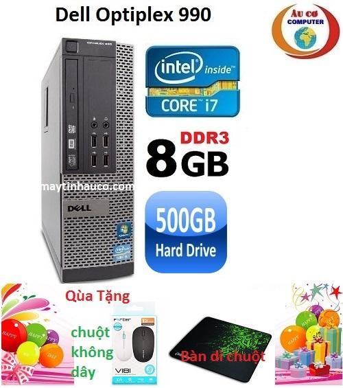 Bán May Tinh Dell Optiplex 990 Core I7 Ram 8Gb Hdd 500Gb Tặng Chuột Khong Day Chinh Hang Ban Di Chuột Bảo Hanh 24 Thang Hang Nhập Khẩu Xam Dell Người Bán Sỉ