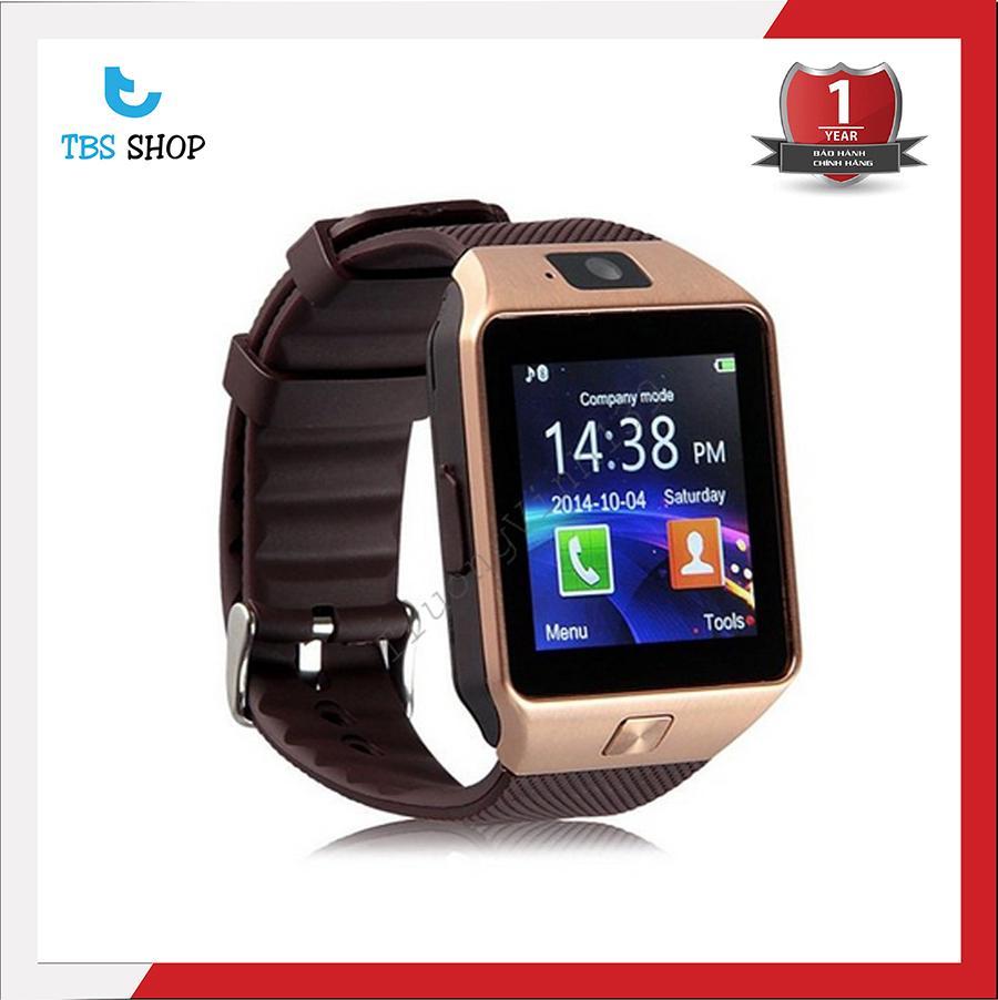 Hình ảnh Bộ đồng hồ thông minh Smart Watch Uwatch DZ09 (Vàng)
