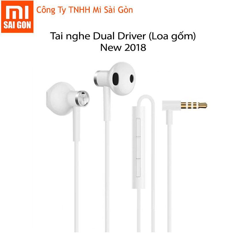 Tai Nghe Loa Gốm Trắng Xiaomi Mi Dual Driver 2018 Xiaomi Chiết Khấu 40