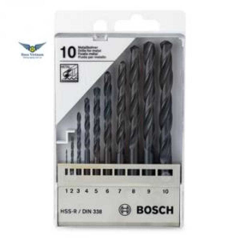 Mũi khoan sắt HSS-G 4.5mm (hộp 10 mũi), 2608595061, Bosch