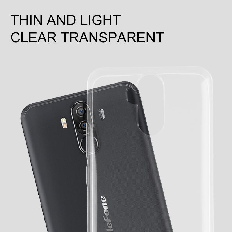 ... Untuk Ulefone Power 3 S Lembut TPU Transparan Telepon Kembali Kasus Lindungi Cover - 3 ...