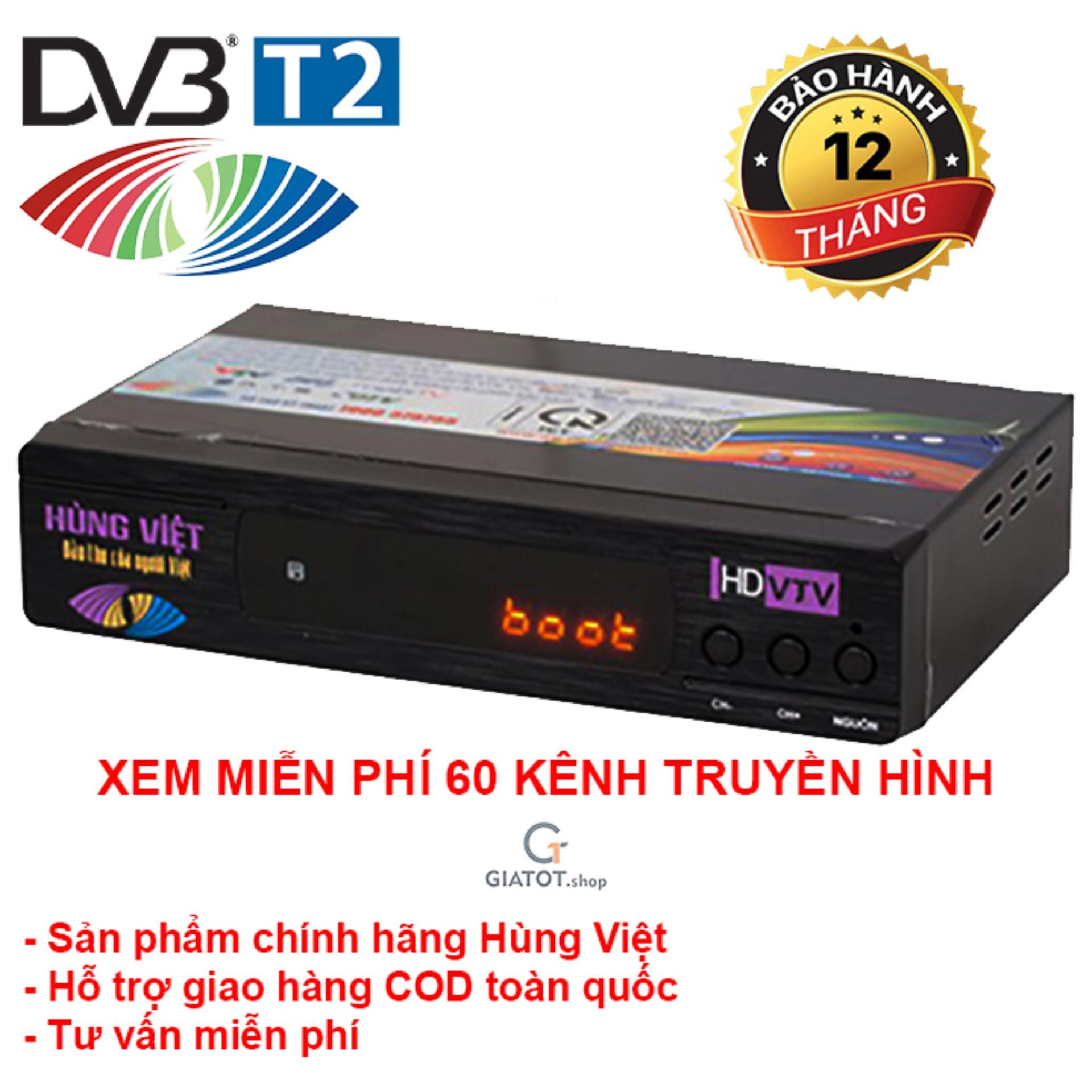 Cửa Hàng Đầu Thu Kỹ Thuật Số Dvb T2 Hung Việt Ts 123 Rẻ Nhất