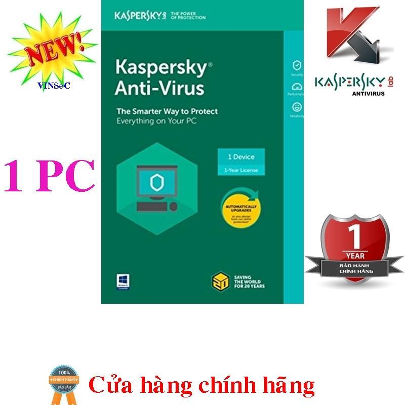 Hình ảnh Phần mềm diệt virus máy tính Kaspersky Anti-Virus 1PC box (bản quyền 1 năm)