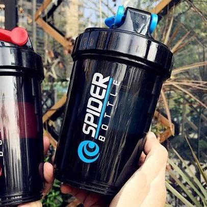 Hình ảnh Bình Lắc Shaker 3 Ngăn Spider Gym - oden0033