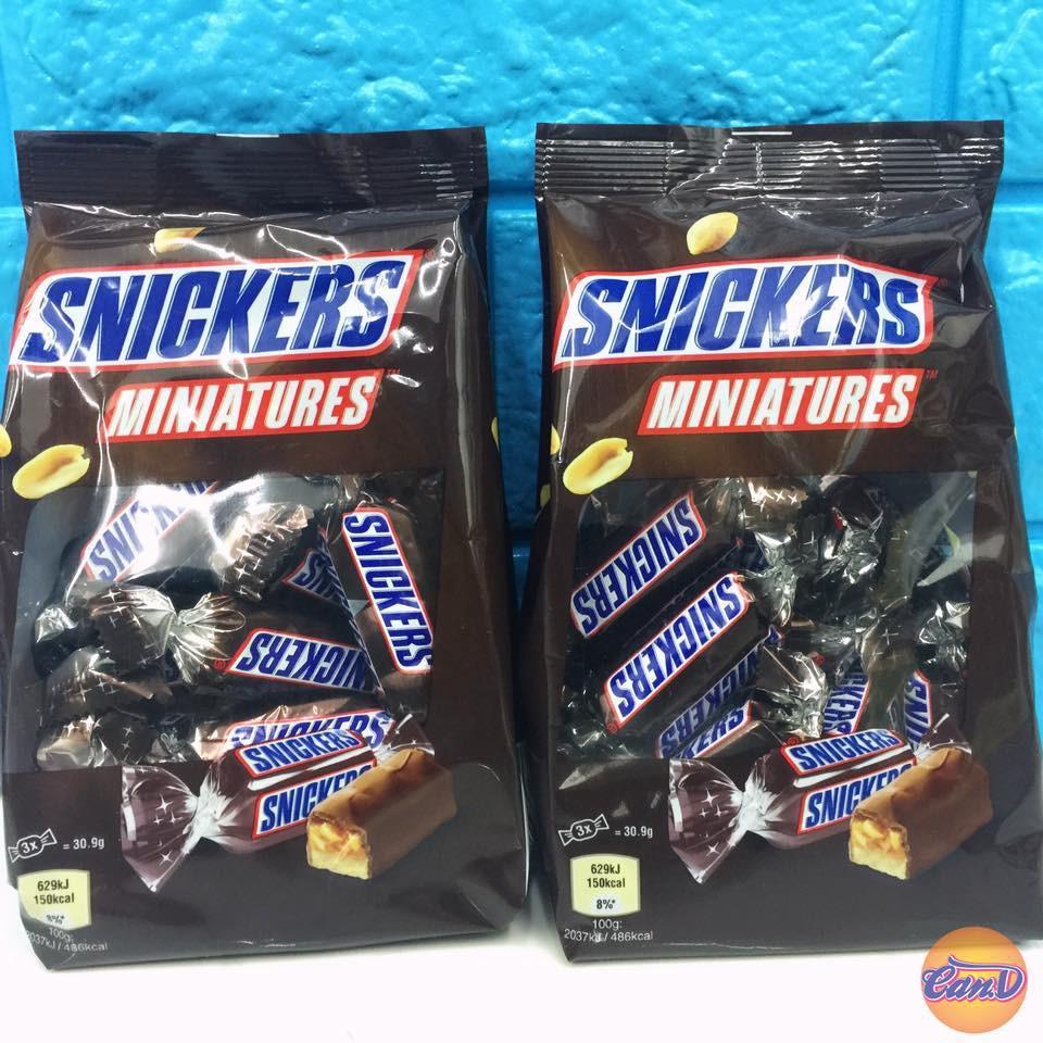 Hình ảnh Chocolate Snickers Miniatures