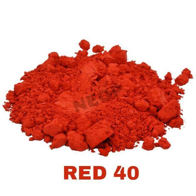 Màu Khoáng Đỏ Thẩm Lì 1G - Màu Khoáng Mỹ - Nguyên Liệu Làm Son và Mỹ Phẩm Handmade