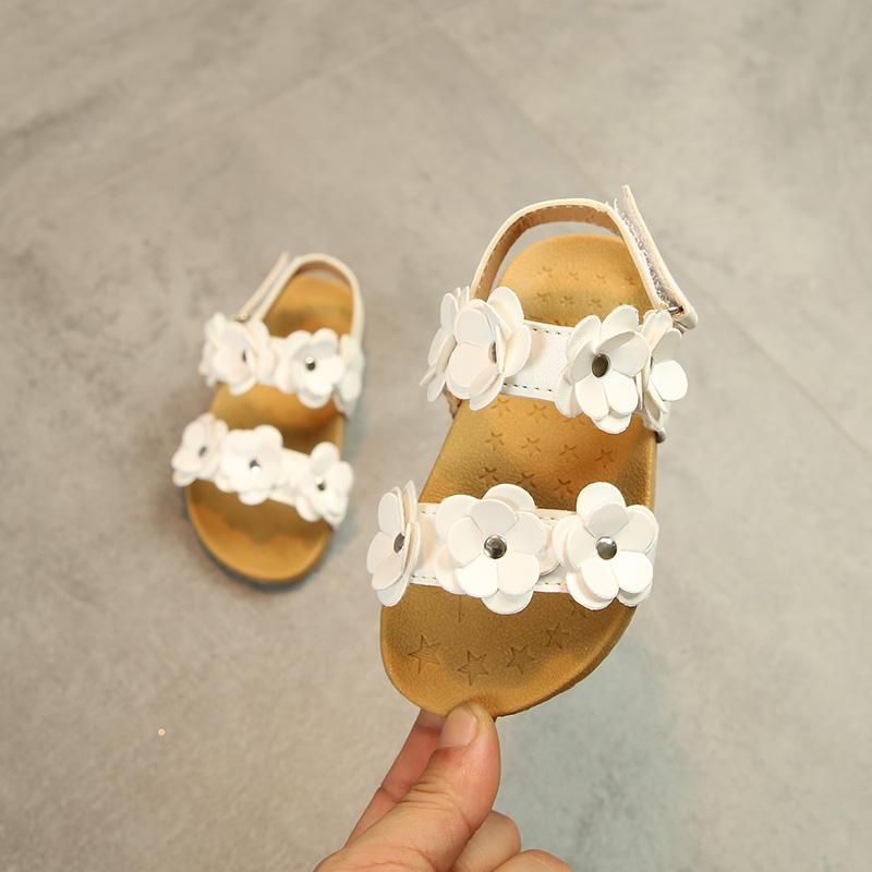 eab70990b2d9a5 2019 Summer Children HUADO Korean Style Princess Shoes Girls Open Toe  Anti-slip Sandals New