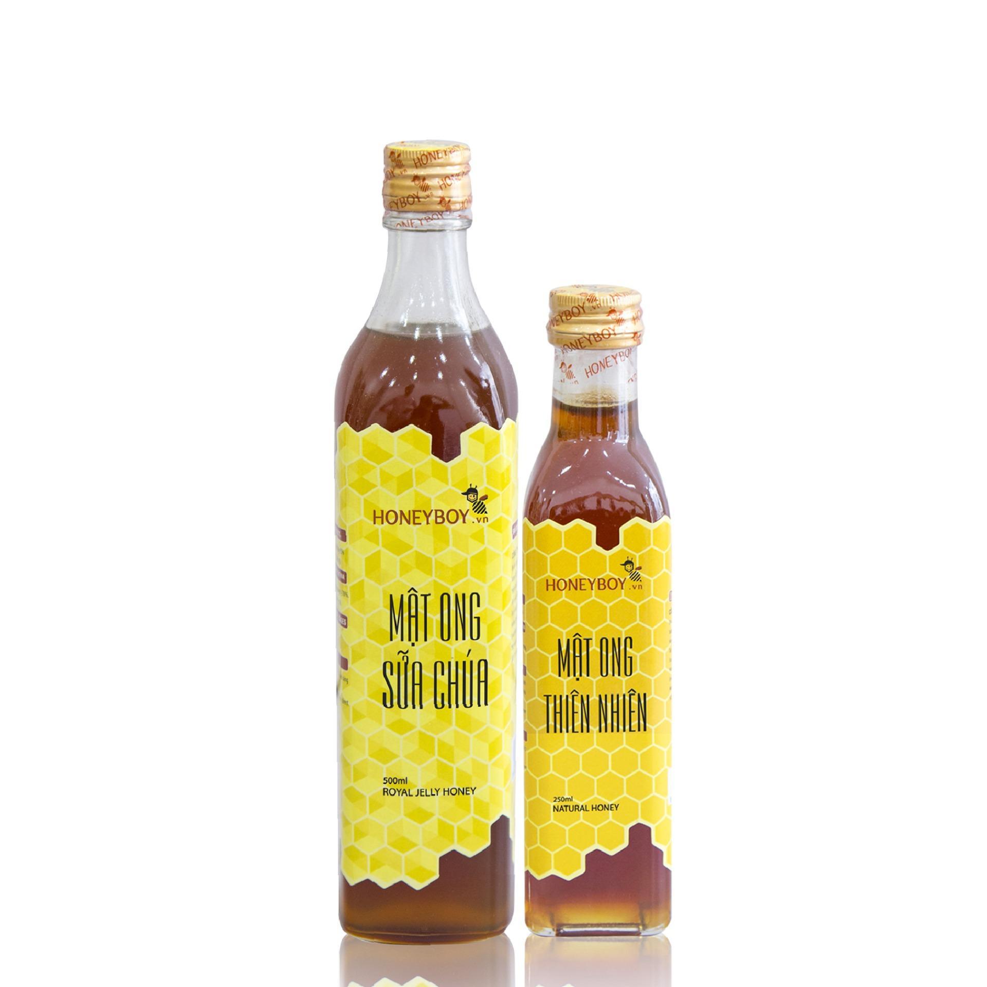 Mã Khuyến Mại Bộ Mật Ong Thien Nhien Honeyboy 250Ml Va Mật Ong Sữa Chua Honeyboy 500Ml Hồ Chí Minh