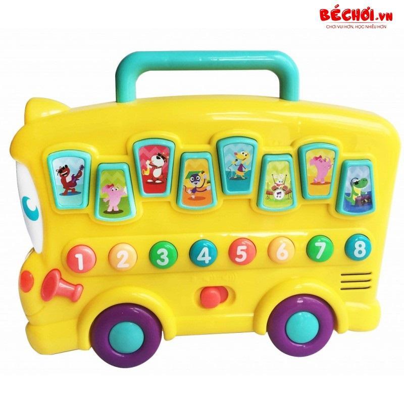 Hình ảnh Đồ chơi cho bé, đồ chơi đàn hình ô tô có nhạc Winfun