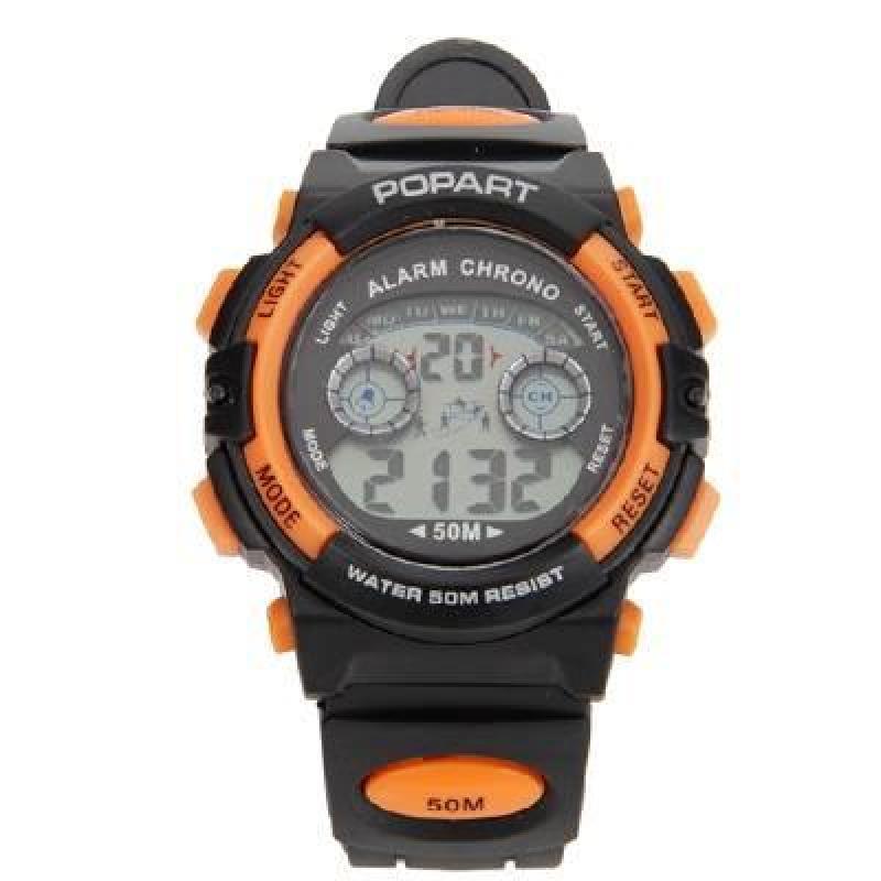 Đồng hồ bé trai điện tử Popart chống shock chống nước bán chạy