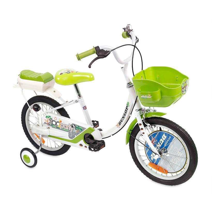 Xe đạp trẻ em Dunlop D-PA165 (Xanh Lá)